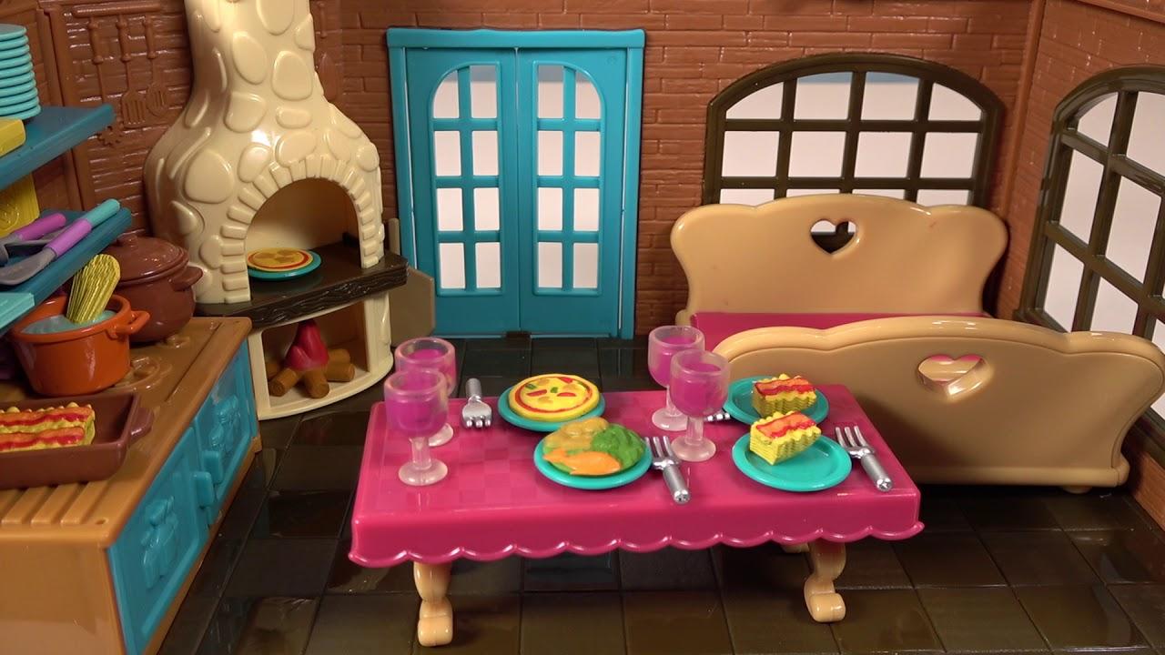 Li L Woodzeez Medium Playset Restaurant Unboxing