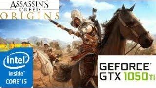 Assassin's Creed  Origins: GTX 1050 TI 4GB i5 4460