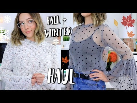 HUGE Fall/Winter Everyday Clothing TRY ON...