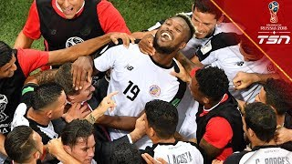 MLS star Kendall Waston reflects on scoring a goal in the World Cup