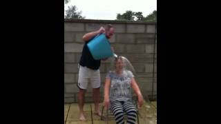 Tracees ice bucket challenge for Macmillan Cancer support