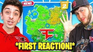 FaZe Clan Reacts to The NEW FORTNITE (Chapter 2)