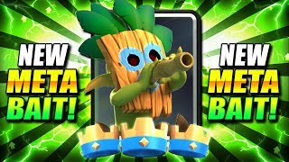 TOXIC OVERLOAD!! DISGUSTING NEW SPELL BAIT DECK DOMINATES!! - Clash Royale