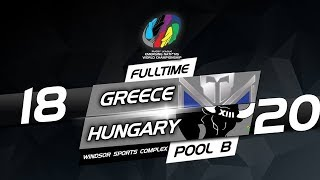 GREECE vs HUNGARY - Rugby League Emerging Nations 2018