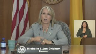 Gov. Lujan Grisham, health officials provide update on COVID-19 efforts Thursday