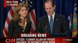 Gov. Eliot Spitzer Resigns