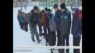 Спецназовцы и кинологи провели открытый урок для  чебоксарских школьников