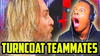 Turncoat Teammates — WWE Top 10 Reaction!