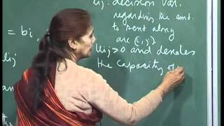 Mod-01 Lec-23 Parametric cost vector LPP, Introduction to Min-cost flow problem.