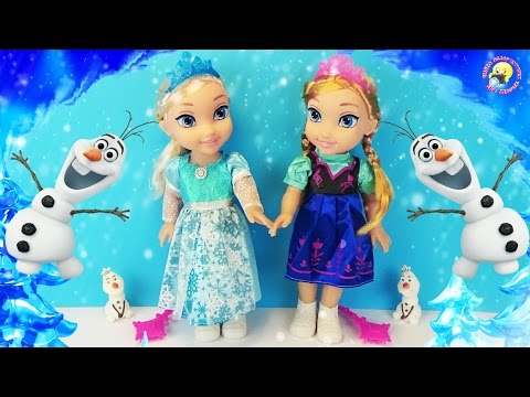 Куклы Эльза и Анна. История: Двойник Олафа Холодное сердце / Frozen Disney doll story