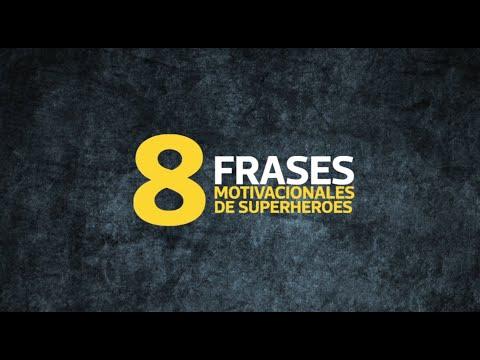8 Frases Motivacionales De Los Superheroes Youtube