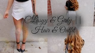 Classy + casual // Hair & Outfit
