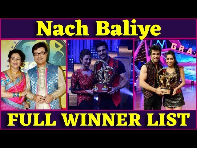 List of nach baliye winners| Winners of All Seasons | 2005 to 2017 | Divyanka Vivek Dahiya