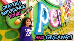 $7 Coupon | Ollie's Crayola Experience Tour & Review | Crayola Experience Plano
