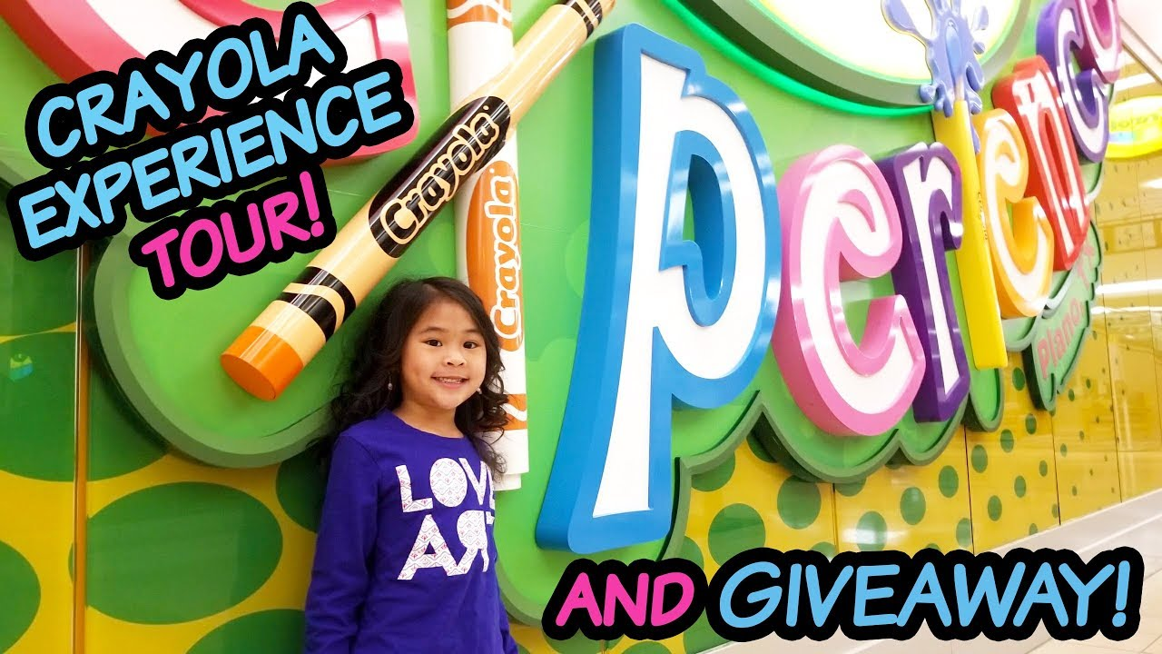 ollie s crayola experience tour review coupon giveaway closed