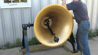40 IN. STEEL ALLOY BELL DEMO. MADE BY THE C.S. BELL CO. HILLSBORO, OHIO
