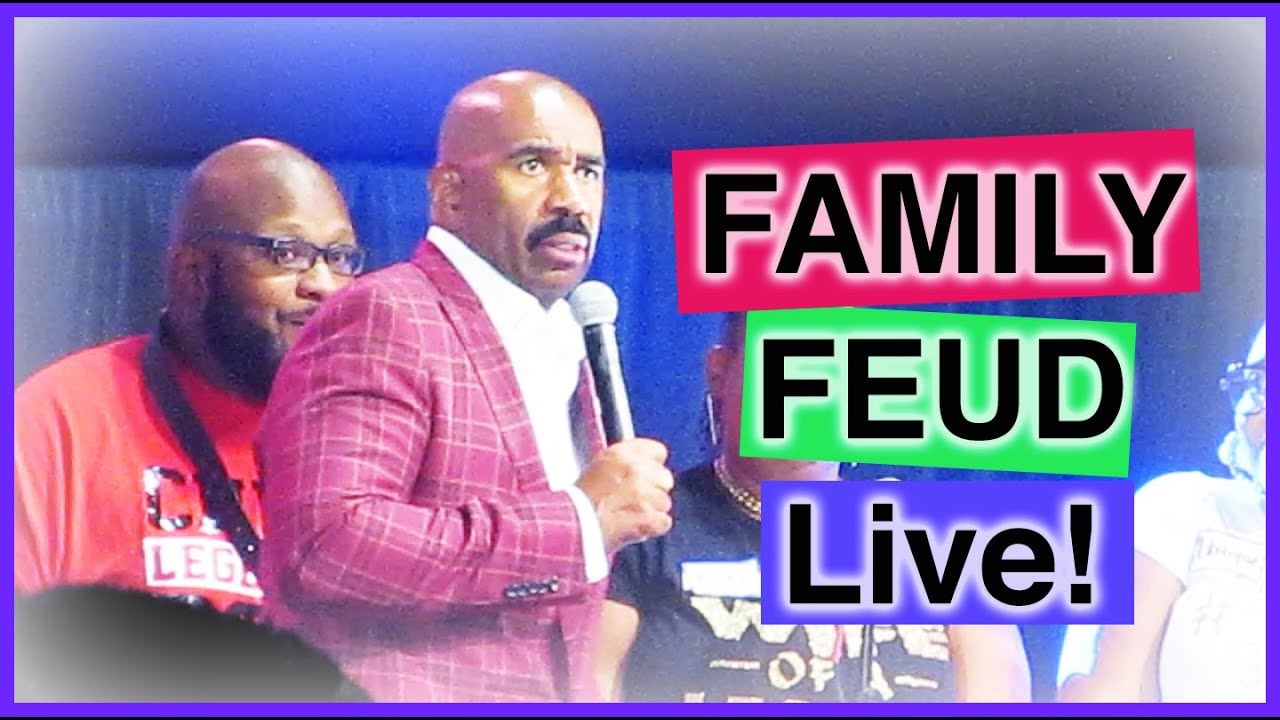 Family Feud Live with Steve Harvey in ATL - YouTube