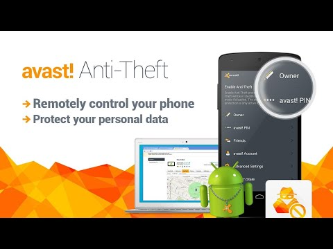 Oneplus 5T with Avast Anti Theft App - Can be use for any android phone!!