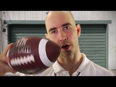 How to Throw a Football Awesome with Freelance Amateur Sports Coach Scoop O'Daniels : Ground Floor