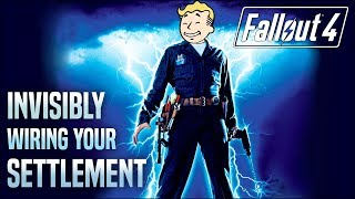 Invisible Wiring Across Your Entire Settlement ⚡ Fallout 4 No Mods Shop Class
