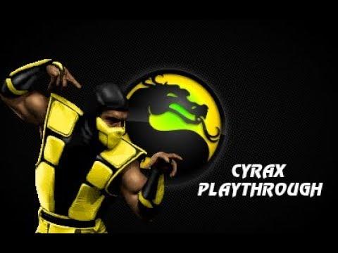 MKP 4.1 Season 2 (MUGEN) - Human Cyrax Playthrough