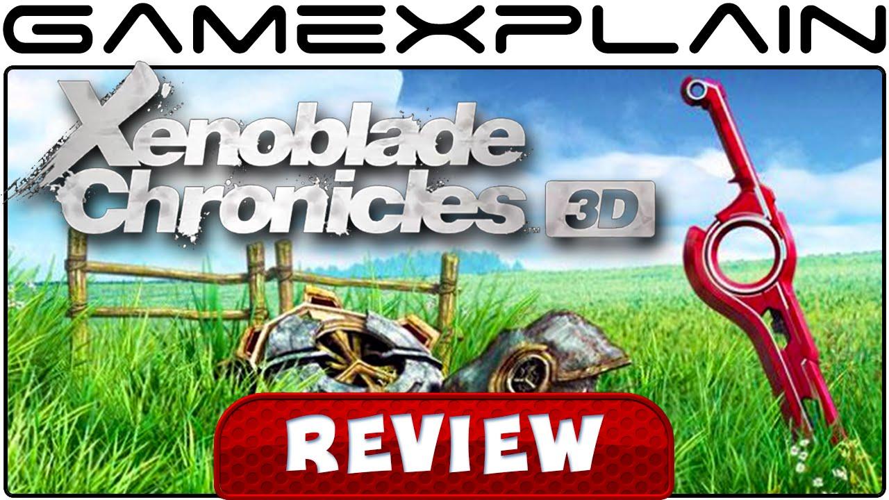 1d1b7e2c3e Xenoblade Chronicles 3D - Video Review (3DS) - YouTube