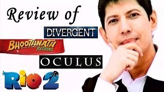 The zoOm Review Show - Bhoothnath Returns, Rio 2, Divergent, Oculus - Review