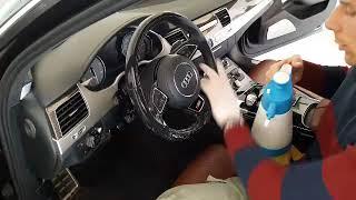 видео Уход за кожаным салоном автомобиля, важные советы