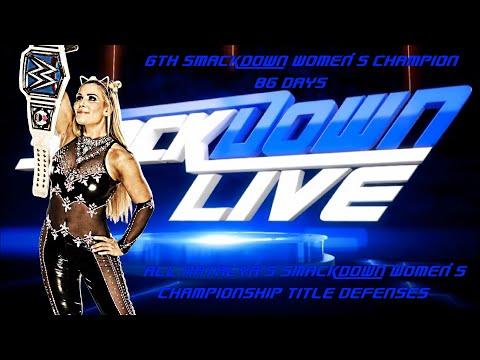 All Natalya's Smackdown Women's Championship Defenses
