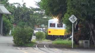 LDK59蒸汽機車牽引東線窄軌4輛小叮噹(LTPS-1102、LTPB-1375、LDR-2204、LDR-2307)