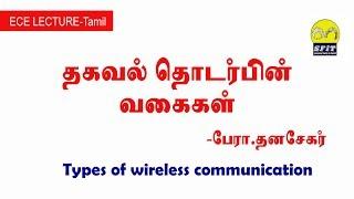 தகவல் தொடர்பின் வகைகள்| Types of wireless communication in Tamil