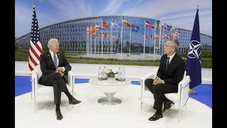 JUST IN: President Biden and NATO Secretary General discuss Russia, China and Afghanistan