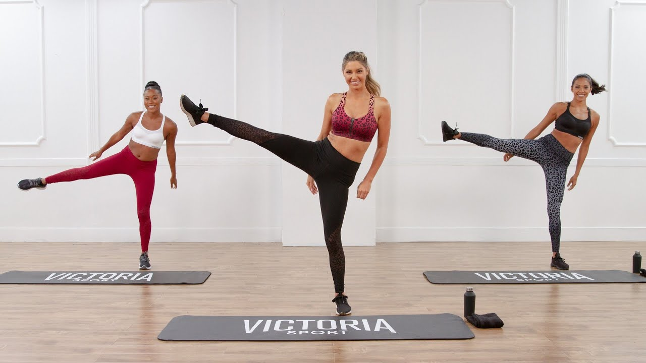 20Minute Victoria Sport Workout For Toned Abs and Legs