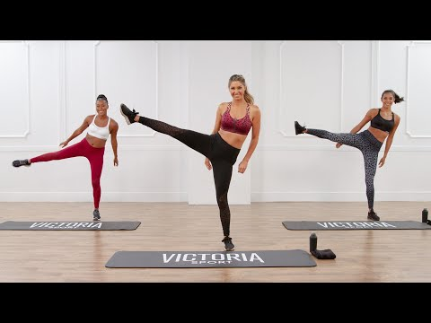 20-Minute Victoria Sport Workout For Toned Abs and Legs - Видео онлайн
