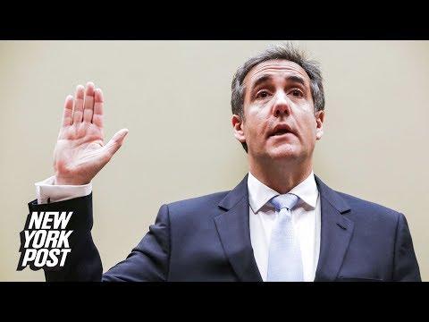 Michael Cohen Testimony (Live Stream Recording) | New York Post