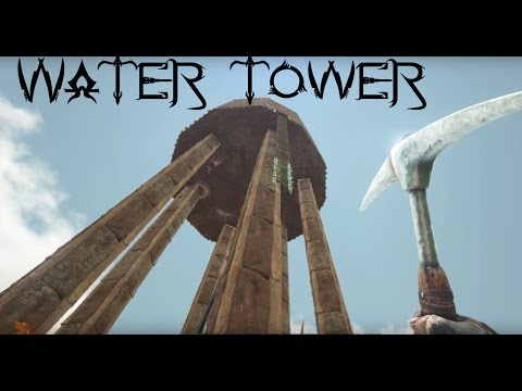 Ark: Scorched Earth | EP4 | Water Tower Build