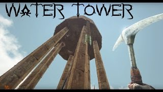 Ark: Scorched Earth   EP4   Water Tower Build