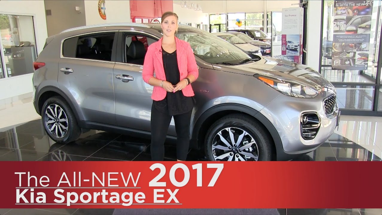 Delightful All New 2017 Kia Sportage EX   Elk River, Brooklyn Park, Minneapolis, St  Paul, St Cloud MN Review   YouTube