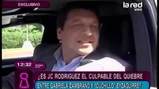 ¿Tuvo culpa JC Rodriguez en ruptura de Gabriela Zambrano y Cuchillo Eyzaguirre