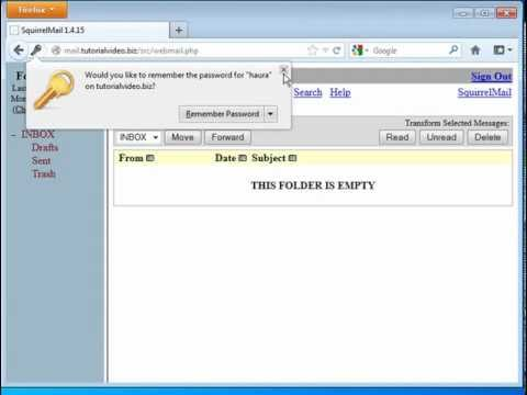 tutorial video webmail server squirrelmail linux debian