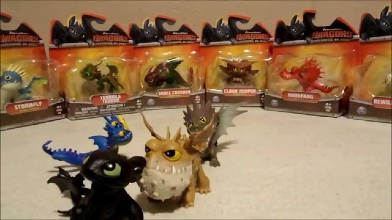 How To Train Your Dragon  Mini Dragon Collection Dooney's Toy Chest