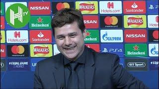 Tottenham 3-0 Dortmund | Pochettino: Next time Son scores - I'll go for a shower!