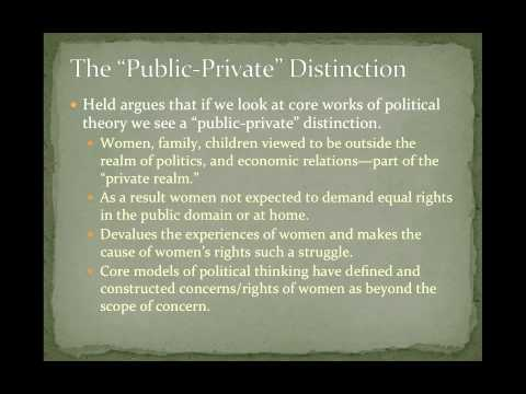POS 201: Lecture 11-Feminist Political Visions