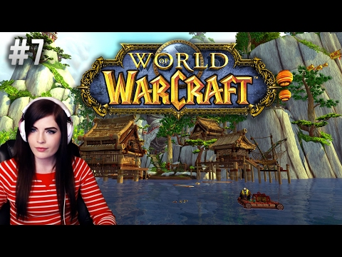 World Of Warcraft (Part 7) Brand New Player, Night Elf Druid - Quests And Dungeons!