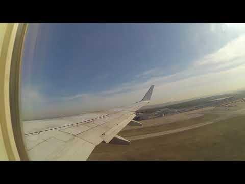 Взлёт Boeing 737-800 Nordstar из Красноярска