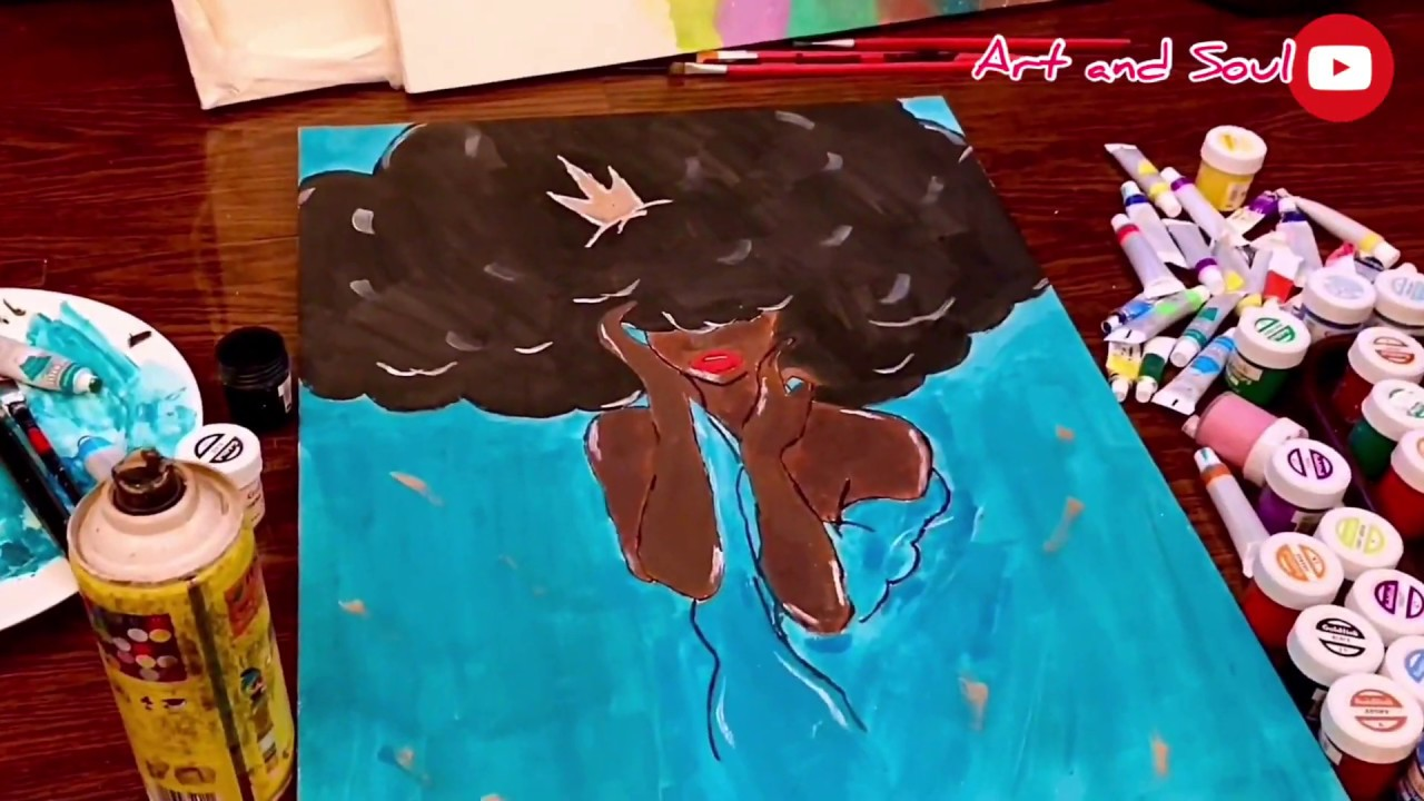 Beginners Acrylics painting tutorials. - YouTube