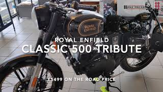 Royal Enfield Classic Tribute 500