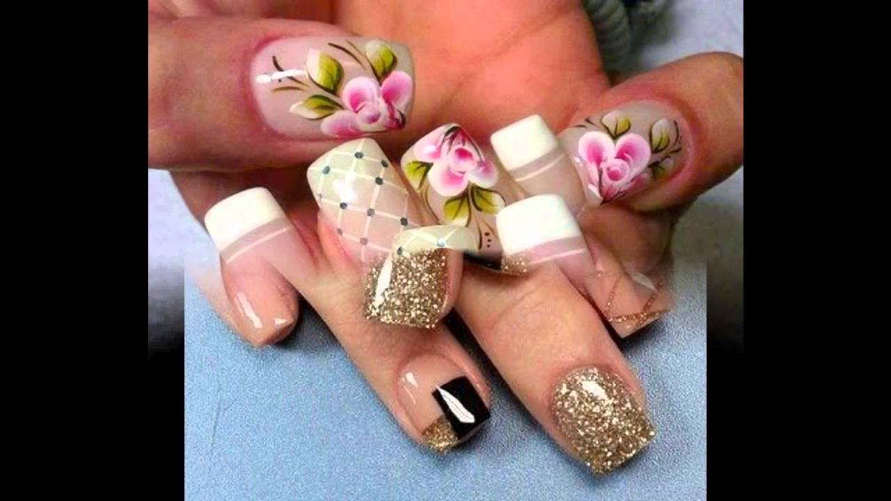 Uñas Decoradas Faciles Bonitas Y Modernas Decorated Nails Faciles