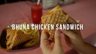 Bhuna Chicken Sandwich by Chef Danesh