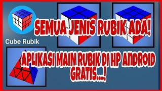 BISA MAIN RUBIK DI HP ANDROID?!! (ADA SEMUA JENIS RUBIK!!!) screenshot 1